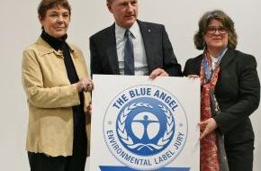 Blauer Engel: Unternehmen stärken Blauen Engel als internationales Umweltschutzzeichen