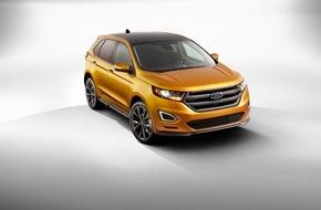 """Ford-Werke GmbH: Ford-Umfrage belegt: SUV-Boom in Europa nimmt weiter Fahrt auf, weil """"Millennials"""" diese Fahrzeuge schätzen"""