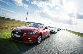 Mazda (Suisse) SA: Der neue Mazda3: Mit der Zukunft verbunden (Bild)