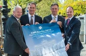Messe Berlin GmbH: CMS 2015: Alle Marktführer beim europäischen Top-Event der Reinigungsbranche vertreten
