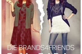 brands4friends.de: Die brands4friends FashionZeitReise - Die Suche nach den Glamour-Looks aus vier Mode-Dekaden