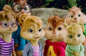 """SAT.1: Putzige Robinsonade: """"Alvin und die Chipmunks 3"""" am 16. Mai 2014 in SAT.1"""