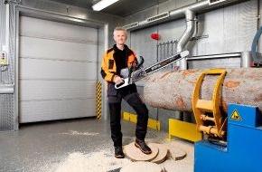 ANDREAS STIHL AG & Co. KG: STIHL wächst weiter und präsentiert Weltneuheiten / Erste Carbon-Leichtbau-Motorsäge mit elektronischer Einspritzung / Erster Trennschleifer mit Akku-Antrieb