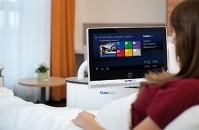 Clinicall Germany: Multitasking im e-Health-Bereich / ClinicAll International: Innovatives ClinicSystem verbindet e-Health und Patientenkomfort für Kliniken und Krankenhäuser (Bild)