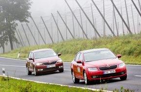 Skoda Auto Deutschland GmbH: SKODA Economy Run 2014: SKODA Octavia gewinnt mit nur 2,95 l/100 km