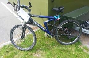 Polizeidirektion Flensburg: POL-FL: Harrislee/Flensburg/Dänemark - Eigentümer eines Mountainbikes gesucht