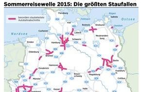 ADAC: Stauprognose für das Wochenende 12. bis 14. Juni / Staus halten sich in Grenzen / Kaum Reiseverkehr, aber viele Baustellen auf den Autobahnen