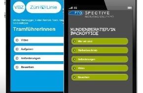 Prospective Media Services AG: Wie Mobile und die Rekrutierung zusammenfinden / Prospective entwickelt ein mobile-optimiertes Stelleninserat