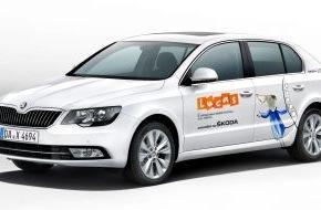 Skoda Auto Deutschland GmbH: SKODA macht das Kinderfilmfestival LUCAS mobil