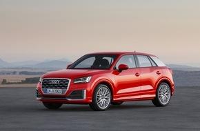 Audi AG: Vorhang auf: der neue Audi Q2