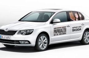 """Skoda Auto Deutschland GmbH: SKODA unterstützt Ausstellung """"Paparazzi!"""" in der SCHIRN KUNSTHALLE FRANKFURT"""