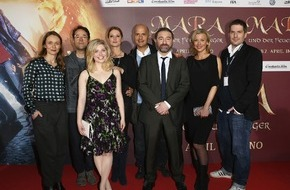 Constantin Film: MARA UND DER FEUERBRINGER feiert Premiere in Köln / Fantasy-Spektakel am Rhein