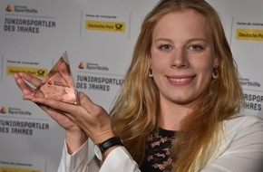 """Stiftung Deutsche Sporthilfe: Triathletin Laura Lindemann ist """"Juniorsportler des Jahres"""" 2015 (FOTO)"""