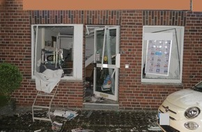 Polizei Düren: POL-DN: Geldausgabeautomat zerstört
