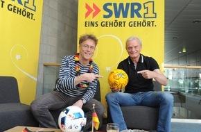 """SWR - Südwestrundfunk: """"Deutschland wird Europameister ... das ist logisch."""" / Hans-Peter Briegel in der Sendung """"Leute"""" von SWR1 Rheinland-Pfalz"""