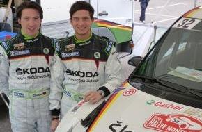 Skoda Auto Deutschland GmbH: SKODA Junior Sepp Wiegand startet bei der Rallye Monte Carlo in der WRC 2