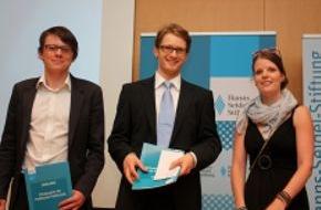 Hanns-Seidel-Stiftung: Verändern Internet und soziale Medien die Politik? /  Hanns-Seidel-Stiftung verleiht Förderpreise für junge Publizisten