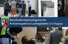 Polizeipräsidium Rheinpfalz: POL-PPRP: Berufsinformationstag