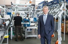 ANDREAS STIHL AG & Co. KG: STIHL wächst zweistellig und investiert bis 2018 weltweit eine Milliarde Euro