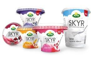 Arla Foods Deutschland GmbH: Harmonie der Gegensätze / Isländisches Traditionsprodukt neu entdeckt: Arla® SKYR ab Juni auch in Deutschland