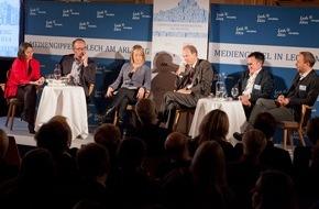 """pro.media kommunikation gmbh: 9. Europäischer Mediengipfel zum Thema """"Verliert Europa an Wert und Werten?"""""""