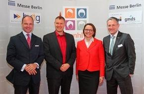 Messe Berlin GmbH: Eröffnungsbericht: conhIT 2015 legt bei der 8. Auflage erneut zu