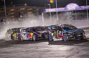 Ford-Werke GmbH: Ford Fiesta ST-Pilot Joni Wiman gewinnt den Meistertitel in der Global RallyCross Championship (FOTO)