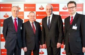 Santander Consumer Bank AG: Starker Mittelstand und Investitionen größte Treiber