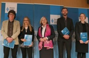 Hanns-Seidel-Stiftung: 2030 - Wo steht dann meine Generation? / Junge Publizisten erhalten Förderpreise der Hanns-Seidel-Stiftung