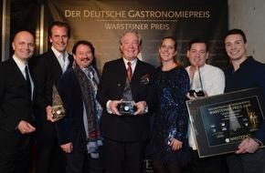 Warsteiner Brauerei: Deutscher Gastronomiepreis 2016 verliehen