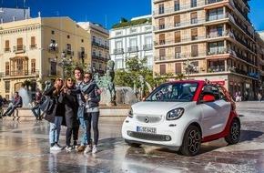 smart: L'estate in città con la nuova smart fortwo cabrio