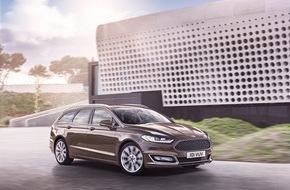 Ford-Werke GmbH: Serienversion des Ford Mondeo Vignale ab sofort bestellbar (FOTO)