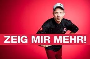 """RTL II: """"ZEIG MIR MEHR!"""" - Der neue Claim von RTL II"""