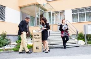 Verein PRS PET-Recycling Schweiz: Verein PRS PET-Recycling Schweiz: 30'000ste freiwillige PET-Sammelstelle eröffnet (Bild)