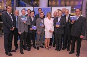 DLRG - Deutsche Lebens-Rettungs-Gesellschaft: Auszeichnung für Zivilcourage und bürgerschaftliches Engagement / DLRG und NIVEA ehren Lebensretter 2013