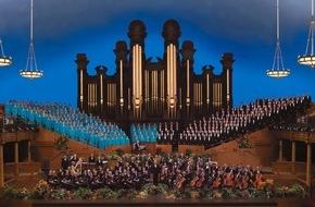 Kirche Jesu Christi der Heiligen der Letzten Tage: Mormon Tabernacle Choir kündigt für 2016 Tournee durch Europa an