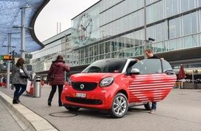 Mobility Carsharing Schweiz: Mobility: 120 neue Smarts an SBB-Bahnhöfen