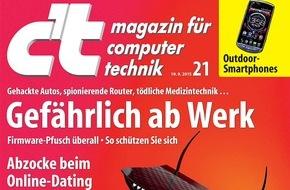 c't: Fake-Profile am Fließband / Verdacht auf Abzocke bei Dating-Plattform Lovoo