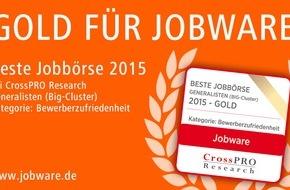 Jobware Online-Service GmbH: Jobware-Nutzer sind besonders zufrieden / Jahresbericht der Jobbörsen: Jobware im Empfehlungsmarketing vorn