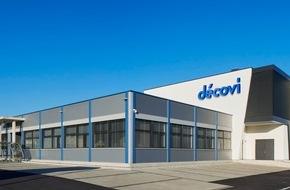 Décovi SA: Décovi S.A. inaugure à Vicques son nouvel établissement de 1 550 m²