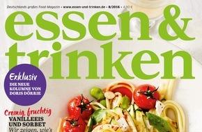 Gruner+Jahr, ESSEN&TRINKEN: Doris Dörrie wird neue Kolumnistin bei ESSEN & TRINKEN