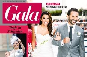 Gruner+Jahr, Gala: Exklusiv in GALA: Eva Longoria zeigt ihr Hochzeitsalbum