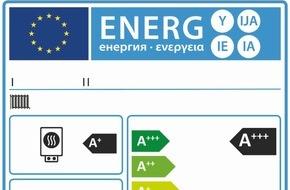 LBS West: Neues Label kennzeichnet Energieverbrauch von Heizungen