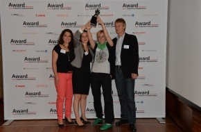 Award Corporate Communications: Award-CC 2013 geht an das Projekt der BSSM für die Basellandschaftliche Kantonalbank