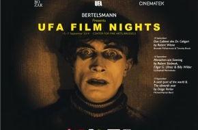 """Bertelsmann SE & Co. KGaA: Bertelsmann präsentiert """"UFA Film Nights"""" in Brüssel"""