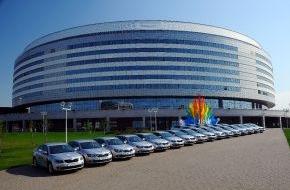 Skoda Auto Deutschland GmbH: Rekord: SKODA ist zum 22 Mal Hauptsponsor der IIHF Eishockey-WM