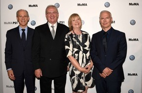 VW Volkswagen AG: Neues Kapitel in der langjährigen Partnerschaft zwischen dem Volkswagen Konzern und dem Museum of Modern Art sowie MoMA PS1