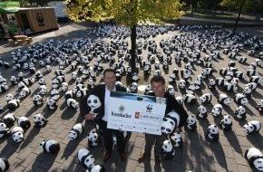 Krombacher Brauerei GmbH & Co.: Krombacher Kronkorkenaktion 2013: Über 1 Mio. Euro für den Klimaschutz gehen an den WWF
