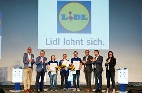 LIDL: 120 Lidl-Nachwuchskräfte ermitteln die besten Zukunfts-Händler / In Hohenroda messen sich die besten Lidl-Nachwuchskräfte. Drei Gewinner vertreten ihr Unternehmen beim Bundeswettbewerb