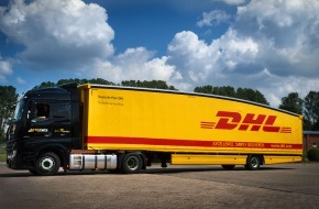 Deutsche Post DHL: Deutsche Post DHL führt ersten Teardrop Trailer für Transport in Deutschland und Frankreich ein